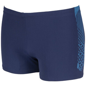 arena Feather Shorts Hombre, navy/turquoise